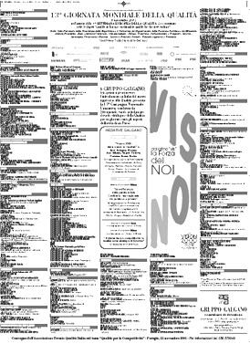Campagna Nazionale Qualità 2001