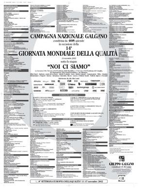 Campagna Nazionale Qualità 2002