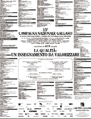 Campagna Nazionale Qualità 2003