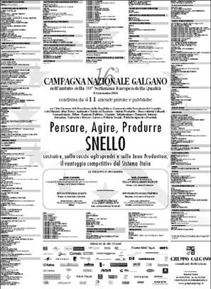 Campagna Nazionale Qualità 2004