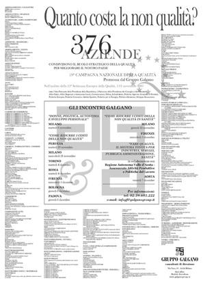 Campagna Nazionale Qualità 2007