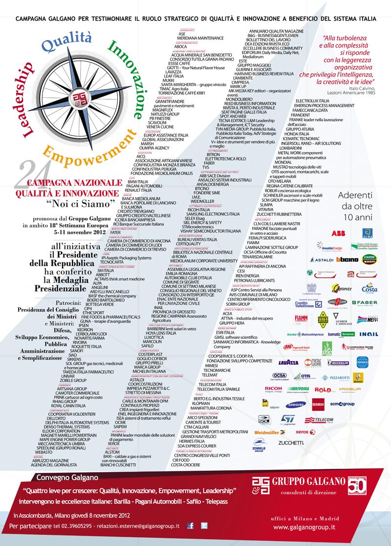 Campagna Nazionale Qualità 2012