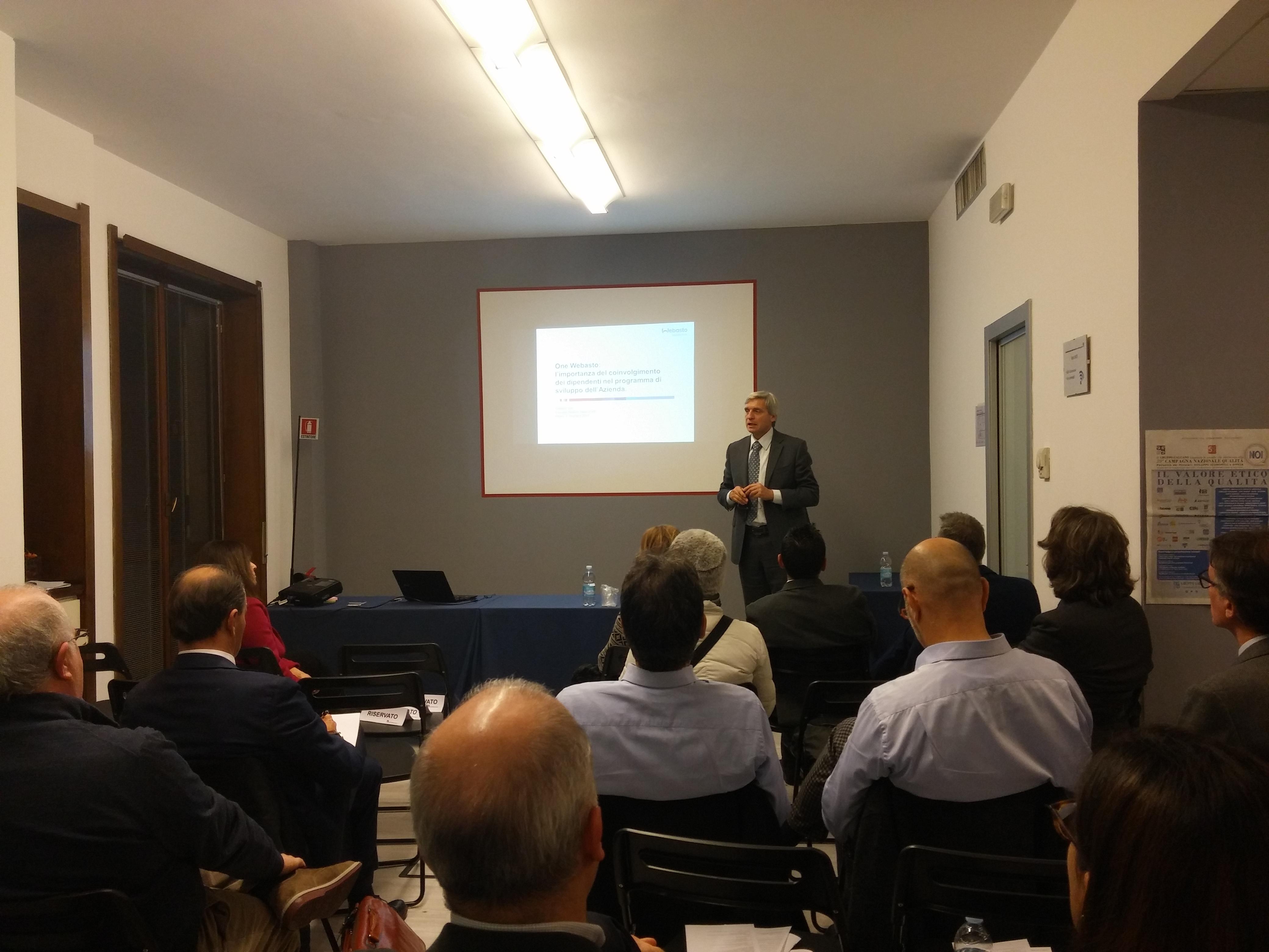 Roberto Pascolati, direttore risorse umane & organizzazione di WEBASTO