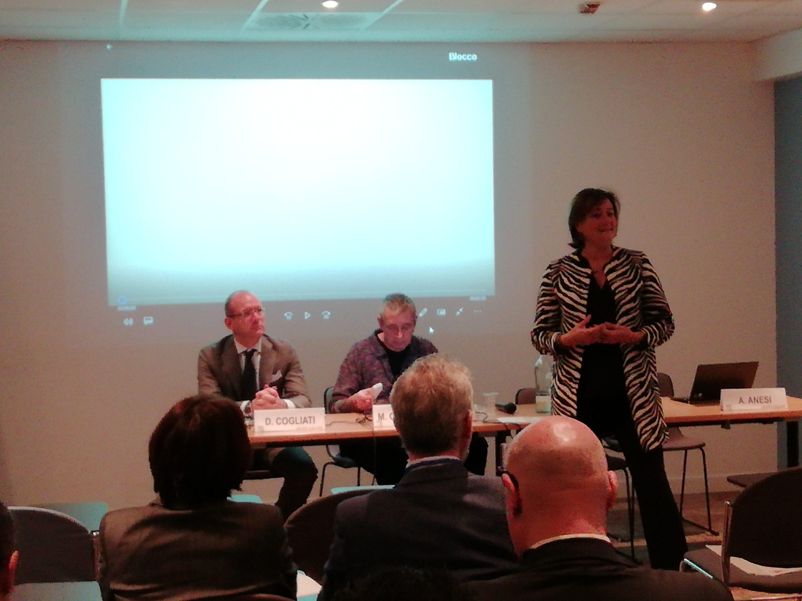 """Mariacristina Galgano (Evento """"Eccellenza nella gestione della commessa attraverso il Lean Project Management. Casi di eccellenza e approcci e innovativi"""" 11 dicembre 2018)"""